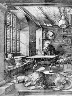 St. Jerome In His Study - 1513